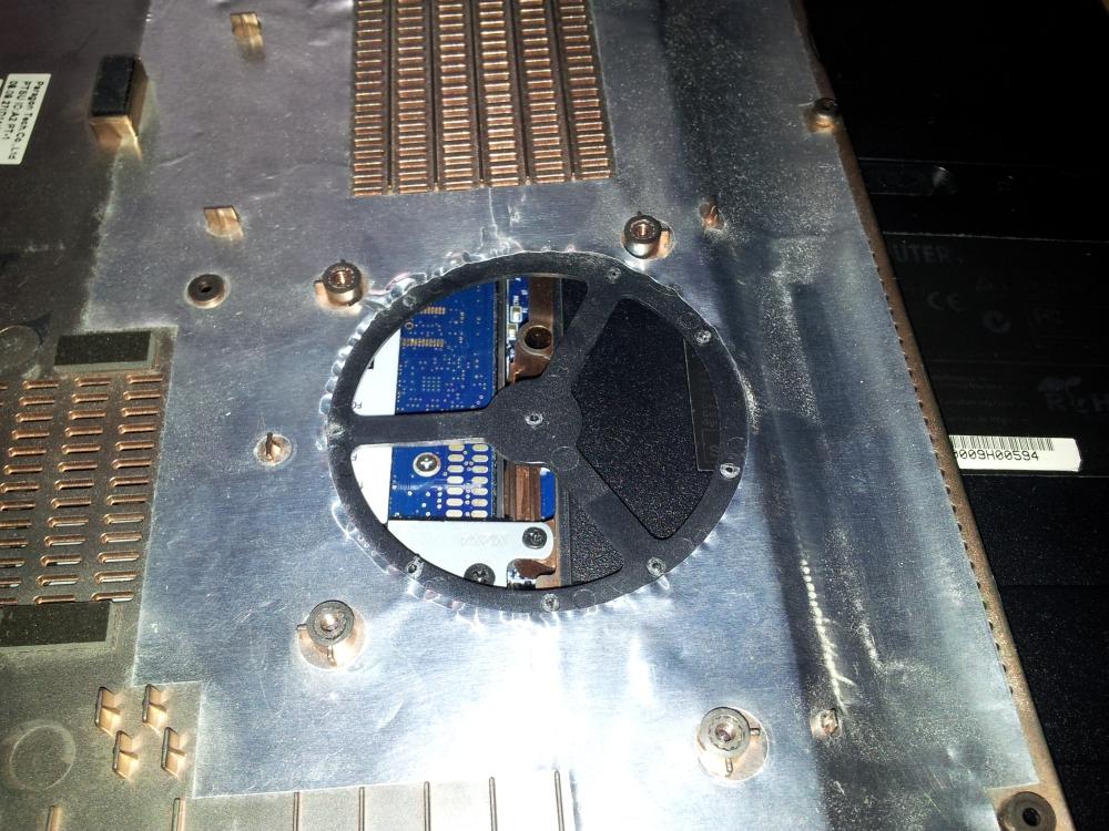 XMG5 CPU Abdeckung